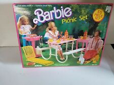 Barbie Picnic Set Playset  ARCO #7751 1988 Original Box 1988 New