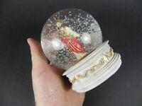 Schneekugel Jesus rotes Herz,Glitzerkugel,Snowglobe Religion,NEU