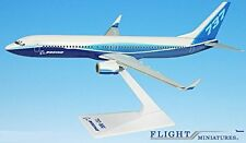 Boeing Demo (04-Cur) 737-900w Airplane Miniature Model Plastic Snap Fit 1:200