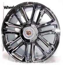 24 Inch Chrome 2007 2013 Cadillac Escalade Platinum Oe Replica 5358 Wheels 6x55