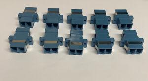 LC-LC Fibre Coupler Dulpex Multi-Mode Blue (Pack of 10)