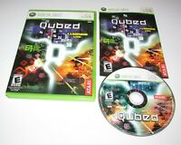 Qubed (Rez, Lumines Live!) for Xbox 360 Complete Fast Shipping