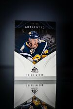 09-10 SP Game Used Tyler Myers /699 Rookie Sabres Vancouver Canucks RC 2009