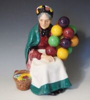 "Royal Doulton Porcelain Figurine  HN 1315*The Old Balloon Seller* - 7 1/4"" H"