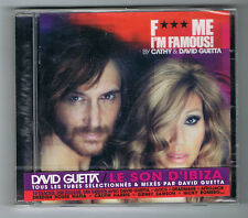 CATHY & DAVID GUETTA - F***ME I'M FAMOUS ! - CD 15 TITRES - 2012 - NEUF NEW NEU