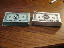 1972 Seance Game Replacement  Money   Box #SE