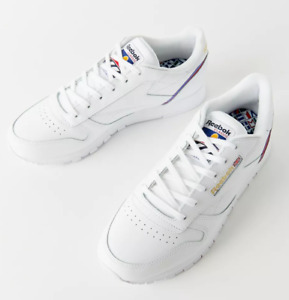 Reebok Womens Classic Leather Low Top Trainers Running Shoes Sneakers - Size 7