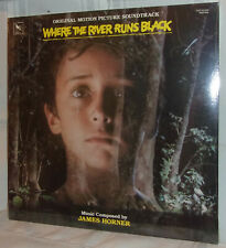 James Horner WHERE THE RIVER RUNS BLACK Original Film Soundtrack 1986 SEALED LP
