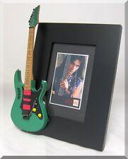 STEVE VAI Miniature Guitar Frame Ibanez  Green