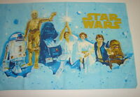 Star Wars Vintage 1978 Luke Leia Han Chewy ANH  Pillow case  nice shape   216