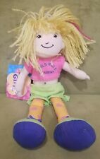 "Groovy Girls DOLL 12"" Jayna Plush Girls Rule Academy Manhattan Toy Company"