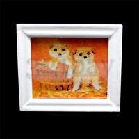 Puppenhaus Bilder für Wohnzimmer-Wand Puppenhaus Maßstab 1zu12 Minideko Gemälde