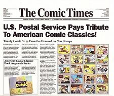 USPS First Day Ceremony Program #3000 Comic Strips Pane/20 FDOI1995