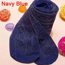 Womens Lady Shiny Tights Sparkle Party Glitter Stockings Pantyhose Fashion MO Navy Blue