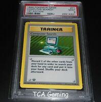 PSA 9 MINT Computer Search 71/102 1ST EDITION Base Set SHADOWLESS Pokemon Card