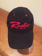 Raceline Wheels Hat Cap Black Adjustable
