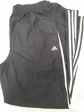 ADIDAS 3 Stripe ATS PROTECT NAVY BLUE mesh Lined Warm Up Pant RUNNING MEN XL NWT