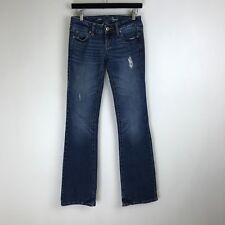 American Eagle Jeans Favorite Boyfriend Dark Wash Tag Size 00 Long (27x34) #5407