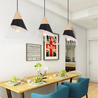 Kitchen Pendant Light Bar Lamp Bedroom Ceiling Lights Black Chandelier Lighting