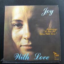 Joy McGuire - With Love LP VG+ PSD 1007 Private Pressing 1973 Vinyl Record