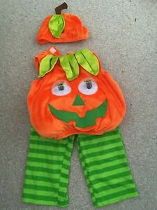 Baby 9-12 Months Pumpkin Halloween Costume From TU