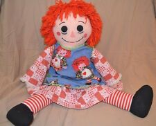 "36"" Raggedy Ann Plush Doll Kid Size Large Vintage Collectible Rare None Like it"