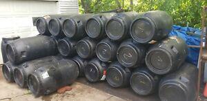 63 Gallon Rain Water Storage Food Grade Plastic Barrel. Screw Top. MI Pick up