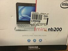 Toshiba MINI NOTEBOOK NB205-310  PC