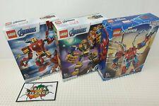 Lego Marvel Mech Figures Bundle. 76140, 76141 & 76146. Brand New and Sealed.