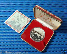1986 Singapore Mint's $10 Lunar Series Year of the Tiger 1 oz Silver Proof Coin