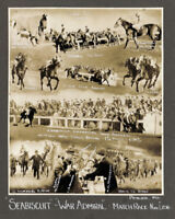 SEABISCUIT & WAR ADMIRAL - 8X10 MATCH RACE HORSE RACING PHOTO COLLAGE!