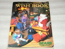 Rare Vintage Sears WISH BOOK 1992 Christmas Toy CATALOG TMNT Batman COX LEGO ++