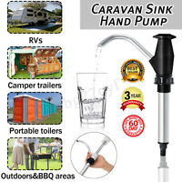Caravan Sink Water Hand Pump Double Action Camping Trailer Motorhome Replacement