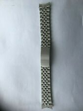Men Replacement Stainless Steel Strap Band Clasp Metal Watch Bracelet 18mm