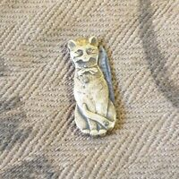 Couteau pliant chat Brass Antique Figurine Knife Collectibles Knife