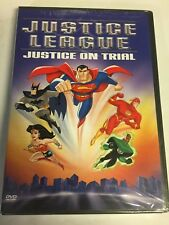 Justice League - Justice on Trial (Dvd, 2003) Brand New Factory Sealed!