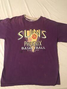 Vintage Vtg 1990s Phoenix Suns Shirt Trench Ultra Tee  Men's XL
