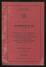 State of Illinois Document THE REVENUE ACT OF 1939 AS AMENDED THROUGH 1959