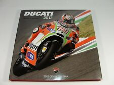DUCATI CORSE 2012 OFFICIAL YEARBOOK BOOK MOTO GP & SUPERBIKE