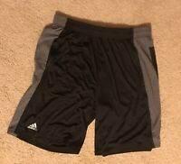 Black with Grey Accents Adidas Climacool Shorts (Sizes: L-3XL)