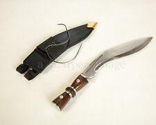"""Gurkha Kukri 17"""" Combat Ready Knife Chopper Black Sheath + Stainless Fittings"""