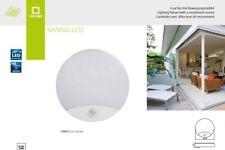 Alimentatore kanlux SANSO LED 15 W 4000k Cool White LED Luce Rotonda PARATIA PIR sensore di movimento