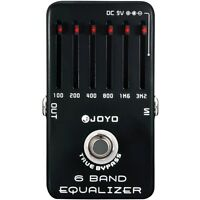 Joyo JF-11 6-Band Equalizer Professional Guitar EQ Effects Pedal w/ True Bypass