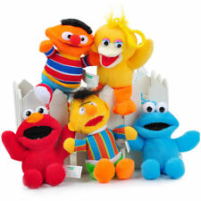 5PCS wholesales Sesame street elmo bert plush ornament doll dolls QT178 chains