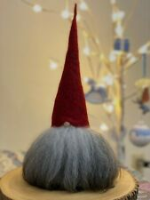 """Asas Tomtebod Christmas Gnome Made in 14"""" Tall Red Swedish"""