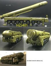 KIT RUSSIAN RS-12M (РТ-2ПМ ) SS-25 horrible nuclear Missile Launcher 1/72