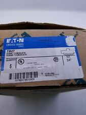 Eaton TB27 Condulet Conduit Outlet Body. Box Of 5 Parts