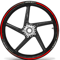 KIT STRISCE ADESIVE per CERCHI 17 compatibili MOTO HONDA HORNET stickers tuning