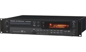 TASCAM - CD-RW900MKII - Professional CD Recorder/Player Advanced Playback Remote