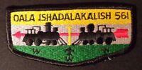 MERGED OALA ISHADALAKALISH OA LODGE 561 LAKE BONNEVILLE UTAH UT PATCH TRAIN FLAP